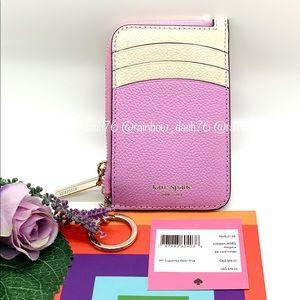 Katespade margaux zip card holder
